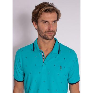 camisa-polo-aleatory-masculina-mini-print-trident-azul-modelo-1-