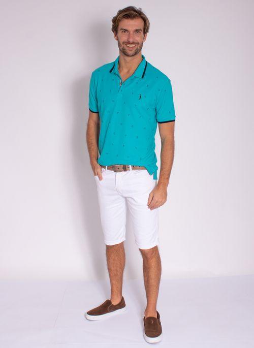 camisa-polo-aleatory-masculina-mini-print-trident-azul-modelo-3-