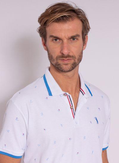 camisa-polo-aleatory-masculina-mini-print-trident-branco-modelo-1-