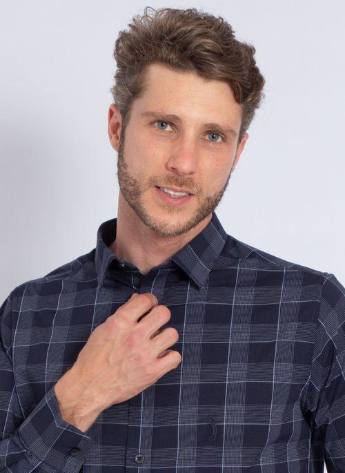 camisa-aleatory-masculina-xadrez-tech-strech-robust-marinho-modelo-1-