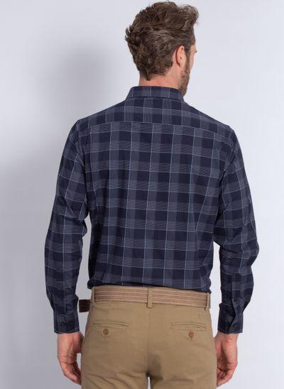 camisa-aleatory-masculina-xadrez-tech-strech-robust-marinho-modelo-2-