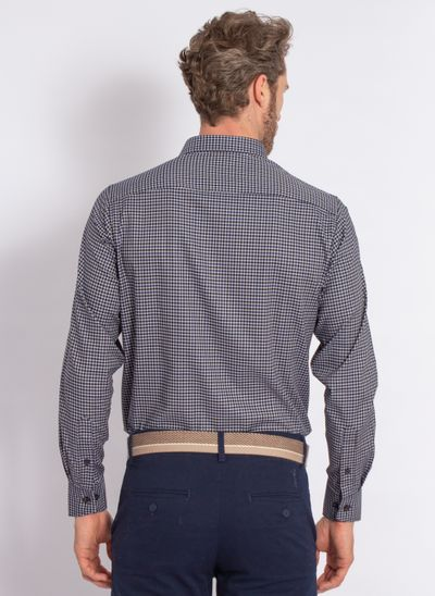 camisa-aleatory-masculina-xadrez-tech-strech-prove-marinho-modelo-2-