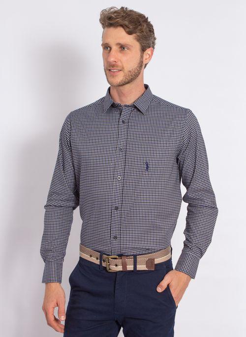 camisa-aleatory-masculina-xadrez-tech-strech-prove-marinho-modelo-4-