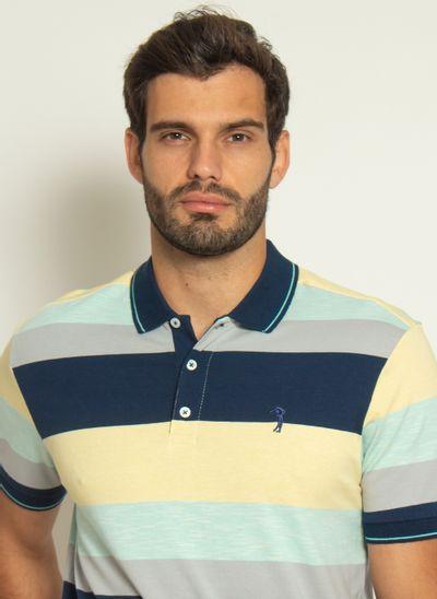 camisa-polo-aleatory-masculina-listrada-pop-amarelo-modelo-1-