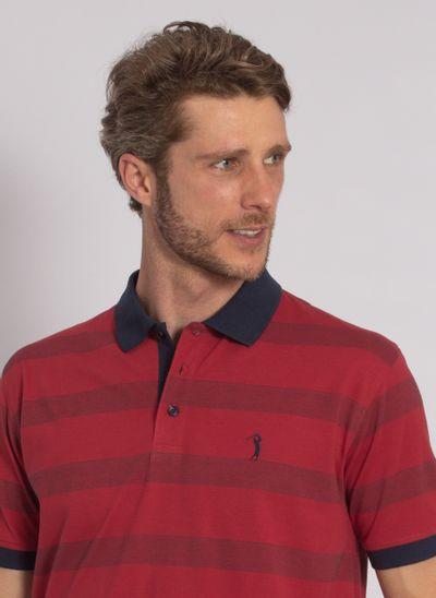 camisa-polo-aleatory-masculina-listrada-perfect-vermelha-modelo-1-