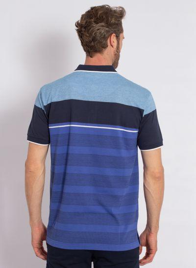 camisa-polo-aleatory-masculina-listrada-spot-azul-modelo-2-