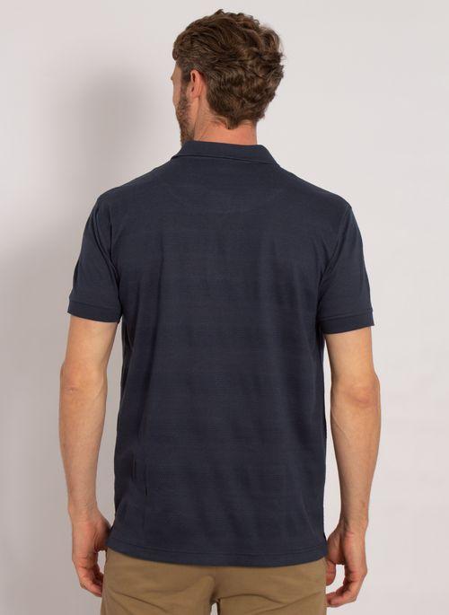 camisa-polo-aleatory-masculina-listrada-textura-azul-modelo-2-