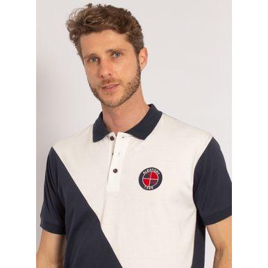 camisa-polo-aleatory-masculina-listrada-diagonal-branca-modelo-1-