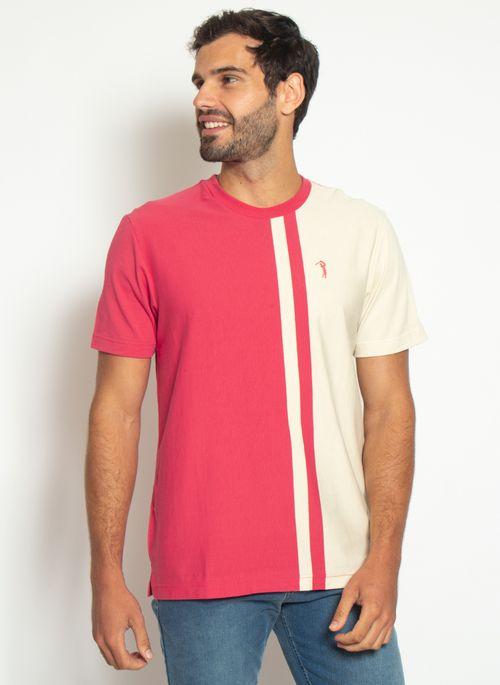 camiseta-aleatory-listrada-masculina-think-vermelho-modelo-4-