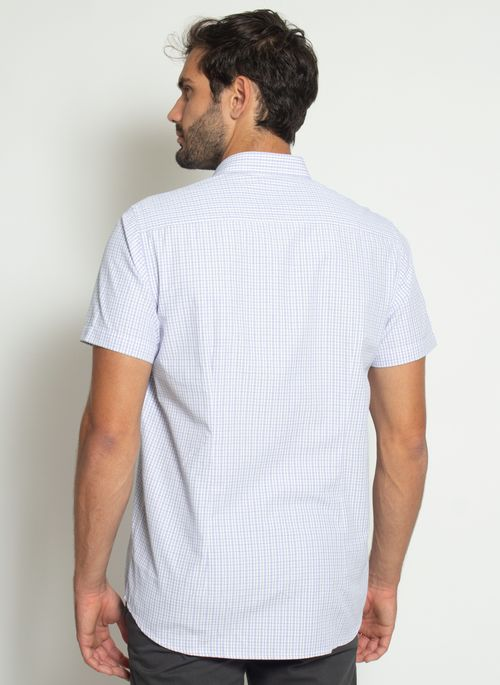 camisa-aleatory-masculina-manga-curta-xadrez-thin-azul-modelo-2-