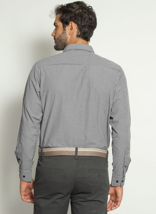 camisa-aleatory-masculina-xadrez-micro-preta-modelo-2-