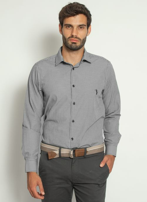 camisa-aleatory-masculina-xadrez-micro-preta-modelo-4-