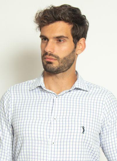 camisa-aleatory-masculina-manga-longa-xadrez-top-branco-modelo-1-