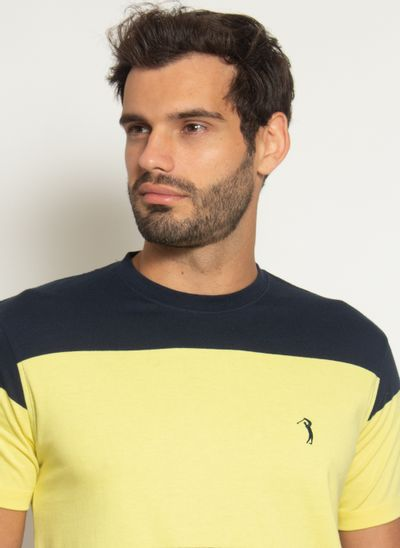 camisata-aleatory-masculina-listrada-check-amarelo-modelo-2021-l-1-
