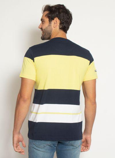 camisata-aleatory-masculina-listrada-check-amarelo-modelo-2021-l-2-