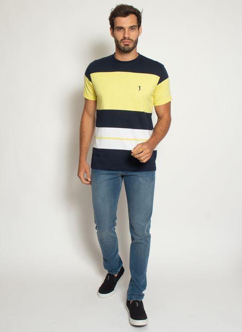 camisata-aleatory-masculina-listrada-check-amarelo-modelo-2021-l-3-