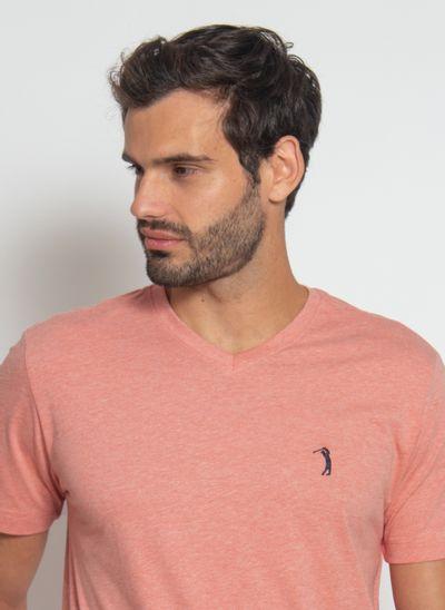 camiseta-aleatory-masculina-gola-v-basica-mescla-laranja-modelo-2021-1-