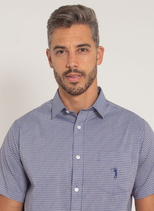 camisa-aleatory-masculina-manga-curta-xadrez-tech-strech-fast-marinho-modelo-1-