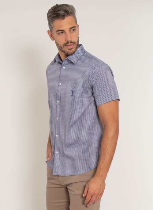 camisa-aleatory-masculina-manga-curta-xadrez-tech-strech-fast-marinho-modelo-4-