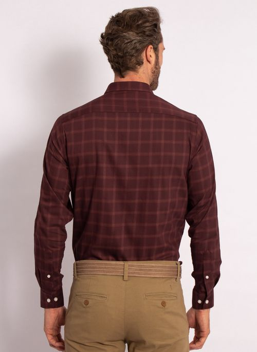 camisas-aleatory-masculina-xadre-tech-strech-bordo-modelo-2-
