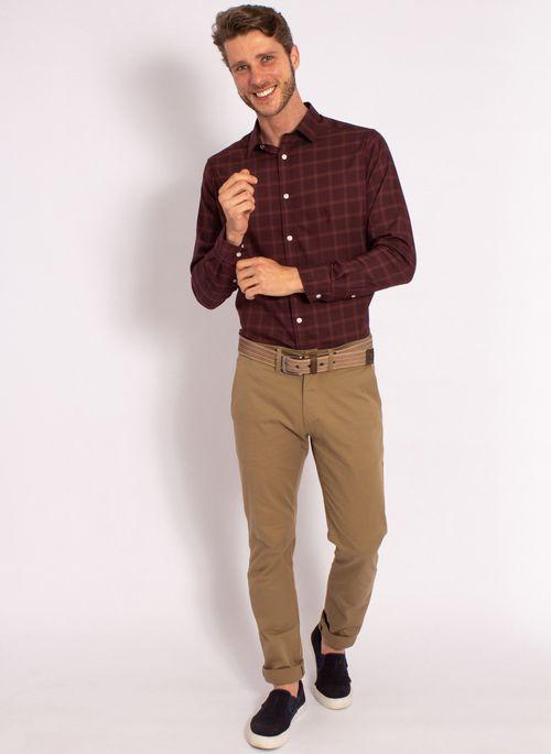 camisas-aleatory-masculina-xadre-tech-strech-bordo-modelo-3-