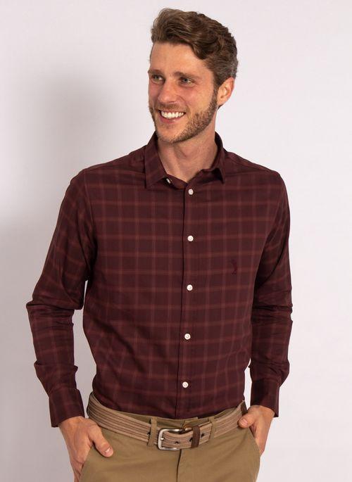 camisas-aleatory-masculina-xadre-tech-strech-bordo-modelo-4-