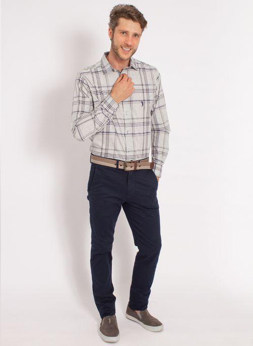 camisa-aleatory-masculina-xadrez-tech-strech-work-cinza-modelo-3-