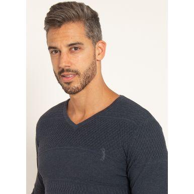 sueter-aleatory-masculino-texturizado-gola-v-one-marinho-modelo-2021-1-