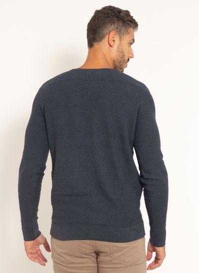 sueter-aleatory-masculino-texturizado-gola-v-one-marinho-modelo-2021-2-
