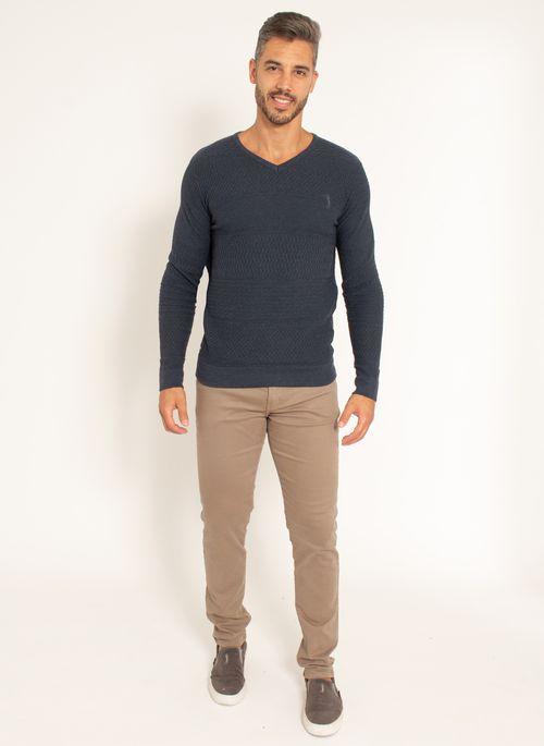 sueter-aleatory-masculino-texturizado-gola-v-one-marinho-modelo-2021-3-