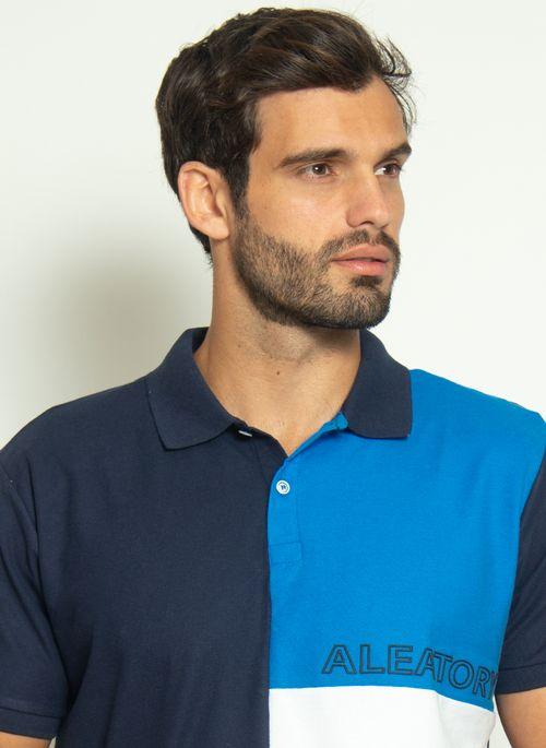 camisa-polo-aleatory-piquet-sundown-azul-modelo-1-