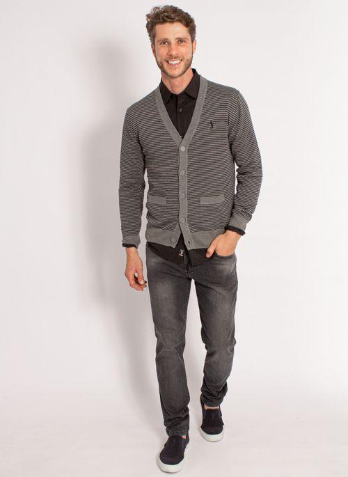 cardigan-aleatory-masculino-listrado-cinza-modelo-3-