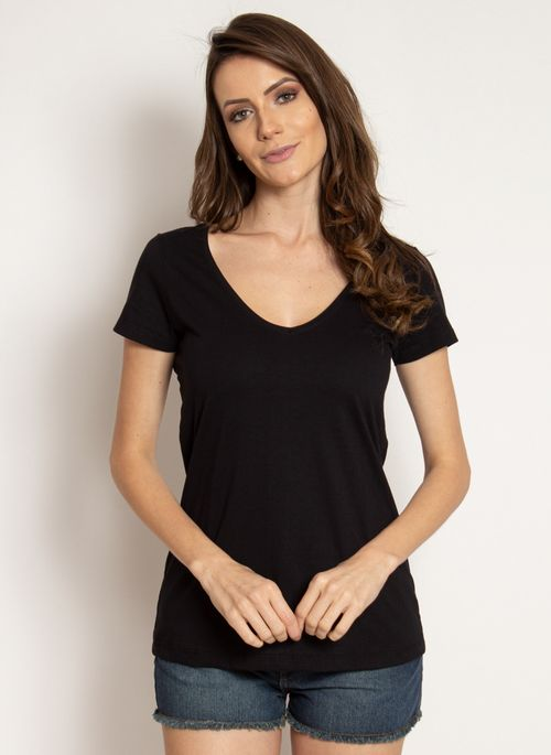 camiseta-aleatory-feminina-gola-v-basica-preta-modelo-2019-4-