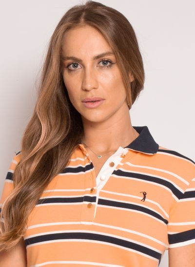 camisa-polo-aleatory-feminina-piquet-listrada-fit-laranja-modelo-2021-1-