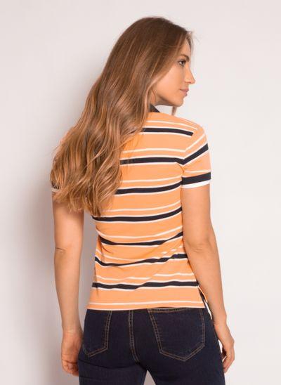 camisa-polo-aleatory-feminina-piquet-listrada-fit-laranja-modelo-2021-2-
