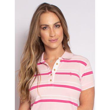 camisa-polo-aleatory-feminina-piquet-listrada-fit-rosa-modelo-2021-1-