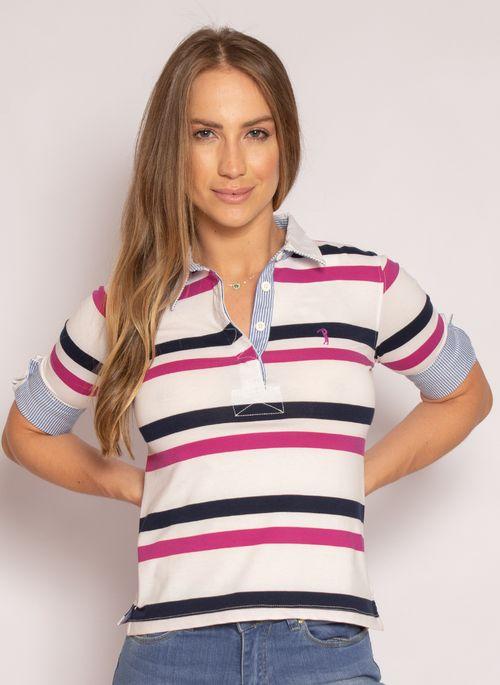 camisa-polo-aleatory-feminina-3-4-azalea-branca-modelo-2021-4-