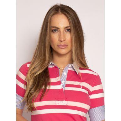 camisa-polo-aleatory-feminina-3-4-azalea-rosa-modelo-2021-1-