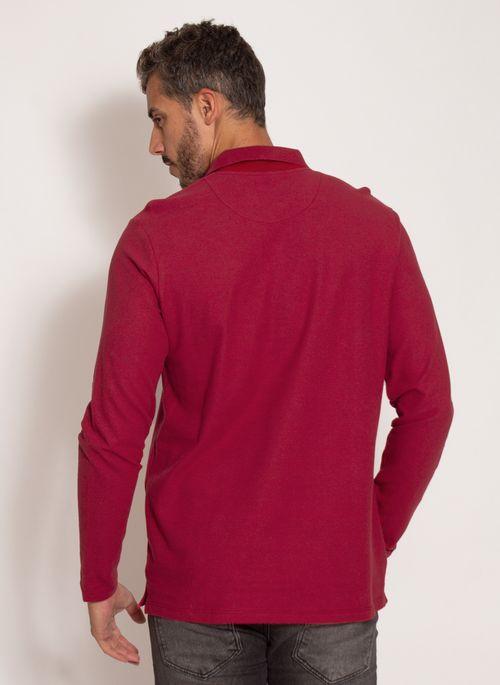 camisa-polo-aleatory-masculina-manga-longa-crypto-vermelho-modelo-2-