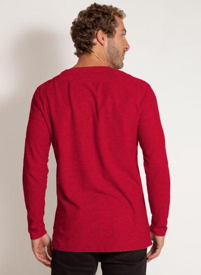 camiseta-aleatory-masculina-lisa-manga-longa-freedom-mescla-vermelha-modelo-2-