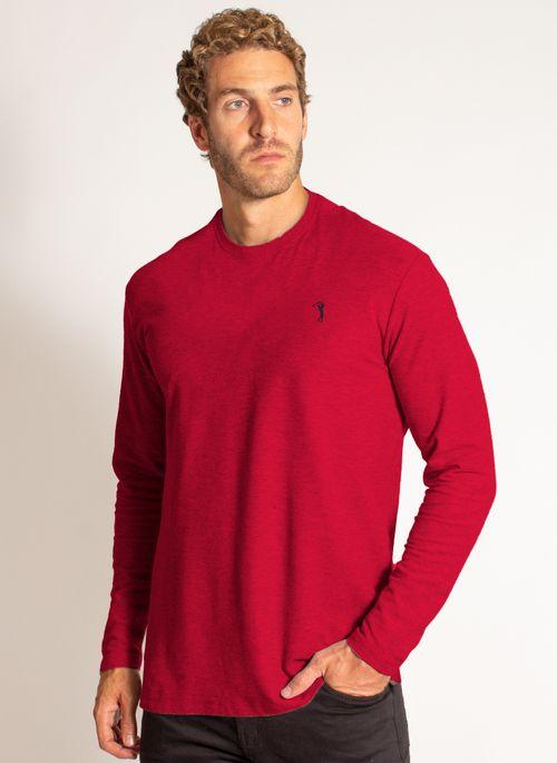 camiseta-aleatory-masculina-lisa-manga-longa-freedom-mescla-vermelha-modelo-4-