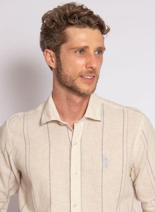 camisa-aleatory-masculina-manga-longa-listrada-linho-bege-modelo-1-