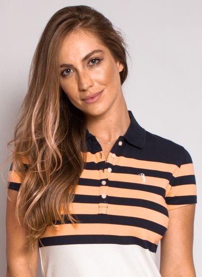 camisa-polo-aleatory-feminina-listrada-lycra-nicy-laranja-modelo-1-