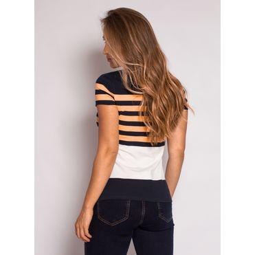 camisa-polo-aleatory-feminina-listrada-lycra-nicy-laranja-modelo-2-