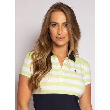 camisa-polo-aleatory-feminina-listrada-lycra-nicy-verde-modelo-1-