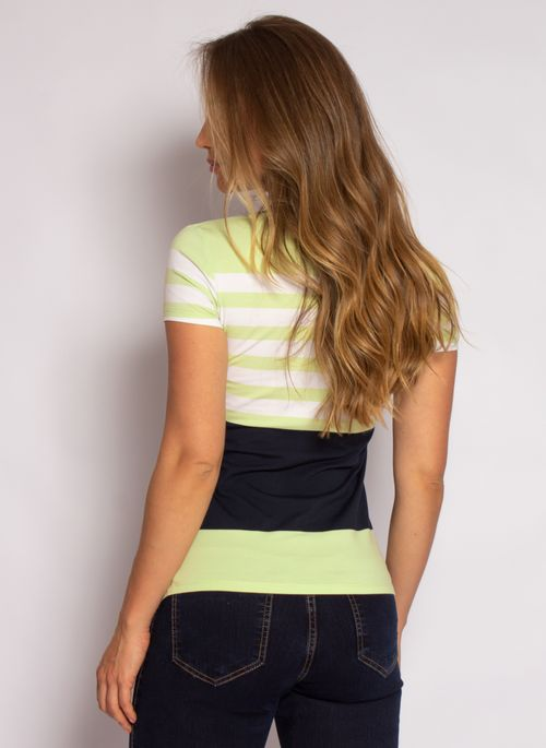 camisa-polo-aleatory-feminina-listrada-lycra-nicy-verde-modelo-2-