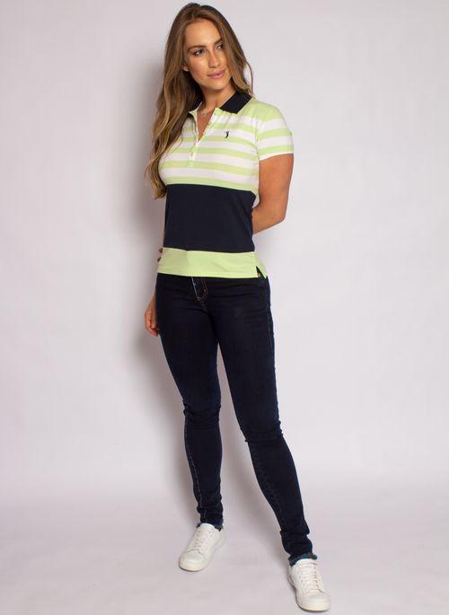 camisa-polo-aleatory-feminina-listrada-lycra-nicy-verde-modelo-3-