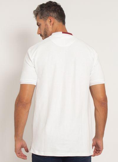 camisa-polo-aleatory-masculina-piquet-dual-branco-modelo-2021-2-