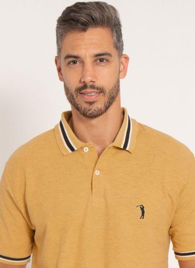 camisa-polo-aleatory-masculina-piquet-like-amarelo-modelo-2021-1-