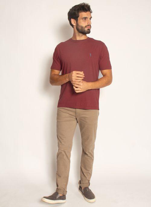 camiseta-aleatory-masculina-basica-lisa-mescla-vermelho-modelo-2021-3-